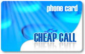 Cheap Call phone card, Cheap Call calling card