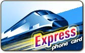 Express phone card, Express calling card
